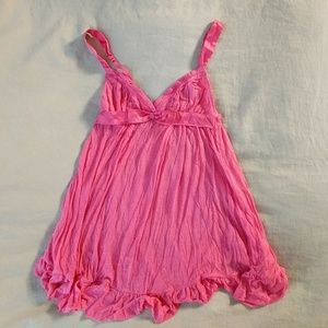 VS Bright pink lingerie